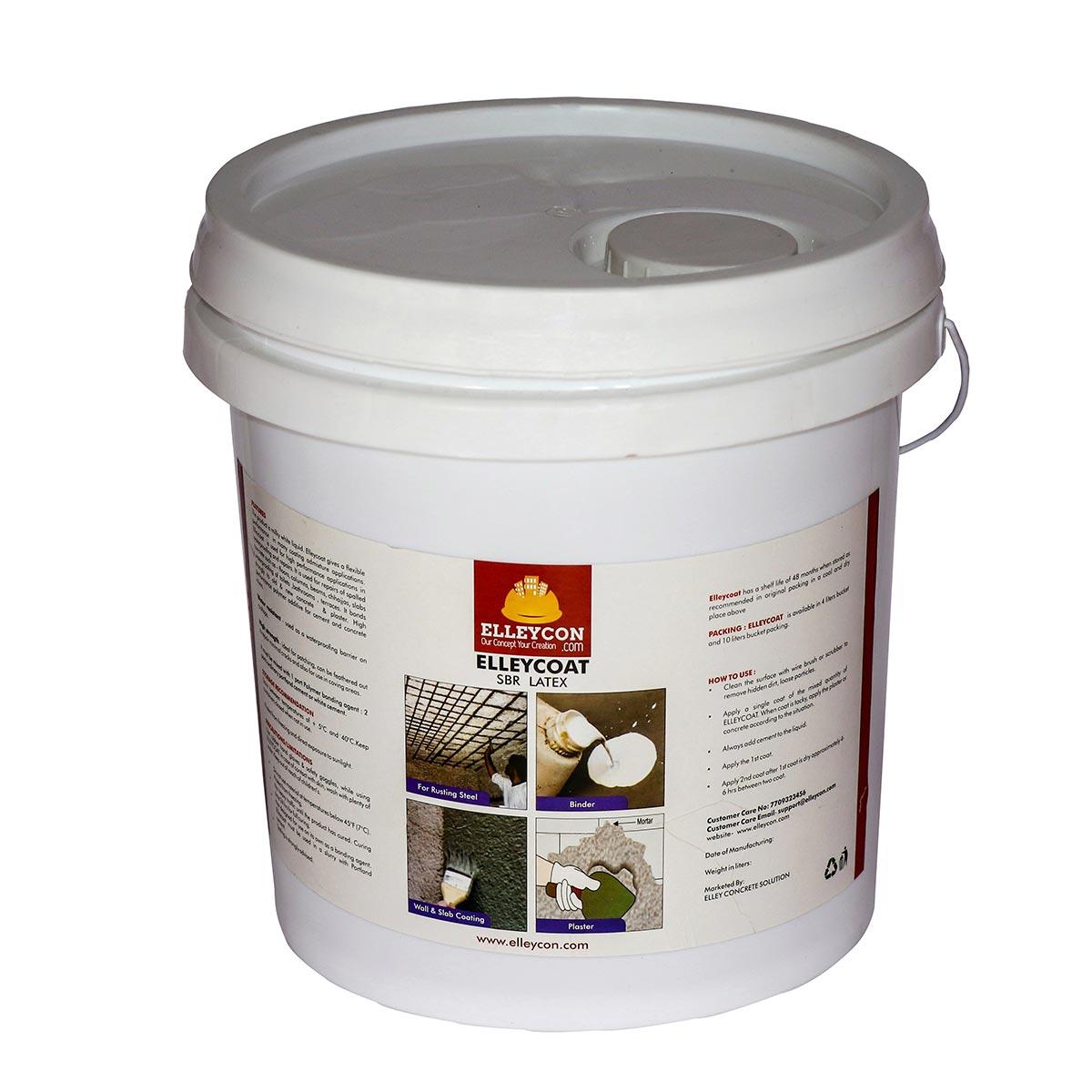sbr latex binder bucket elleycon